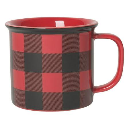 Now Designs Buffalo Check Heritage Mugs, Set of 6