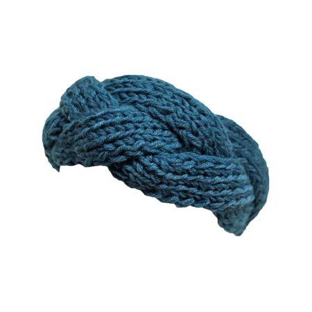 Soft Knit Braid Ear Covering Headband