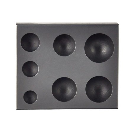7-in-1 Sphere Marble Glassblowing Graphite Ingot Mold - BMLD-0001