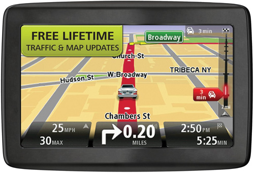 Refurbished Refurbished TomTom VIA 1405TM 4.3-inch Automotive GPS w  Lifetime Traffic & Map Updates by TomTom