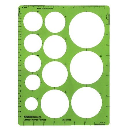 Alvin Jumbo Circle Guide Template