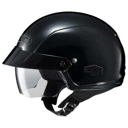 Hjc Is Cruiser Solid Half Helmet Gloss Black Md