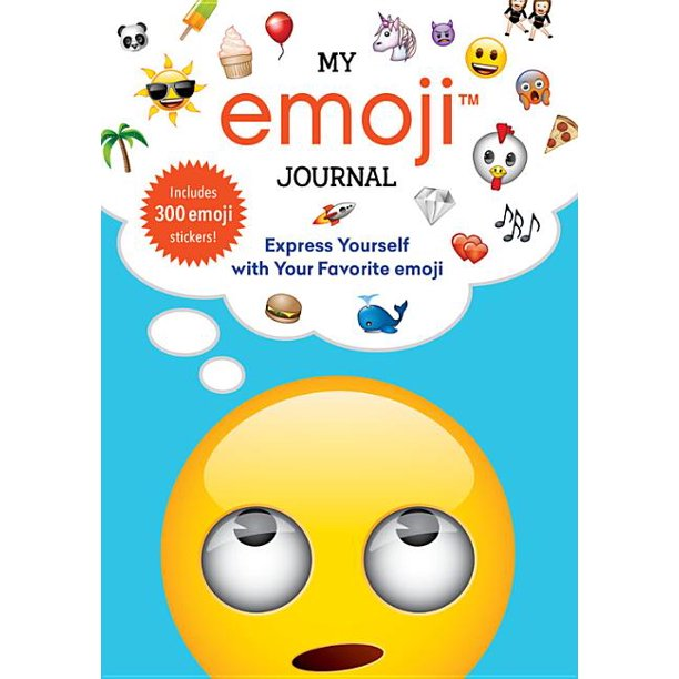 Running Press My Emoji Journal Express Yourself With Your Favorite Emoji Walmart Com Walmart Com