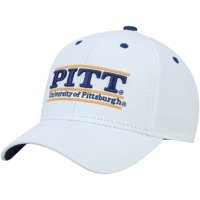 Pitt Panthers The Game Classic Bar Adjustable Hat - White - OSFA