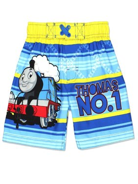 Thomas The Train and Friends Toddler Boys Swim Trunks Swimwear