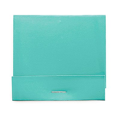 Weddingstar 41092-33 Plain Matchbook Decorative Item, Robin's Egg Blue