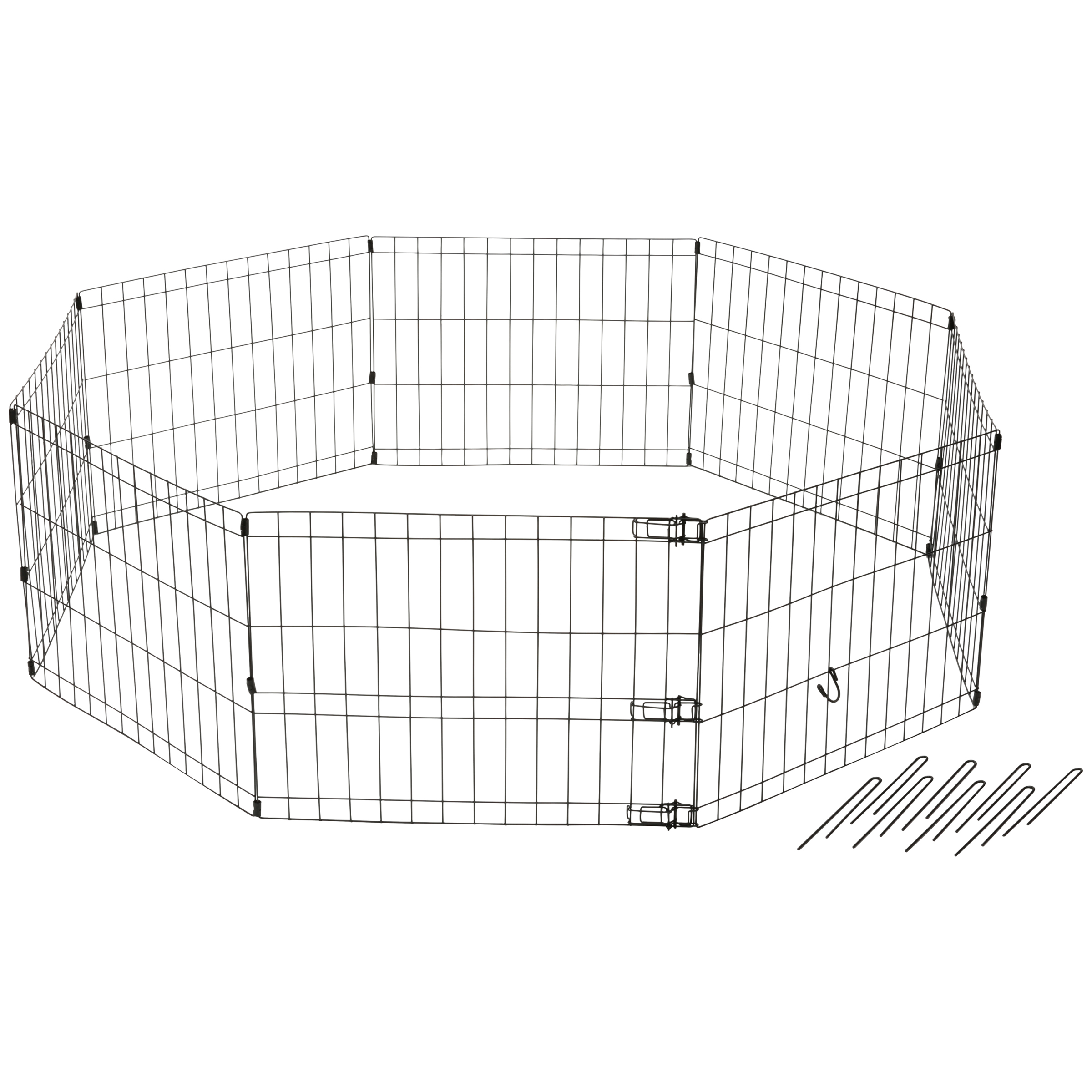 Dog It® Indoor-Outdoor Playpen 8 pc Box
