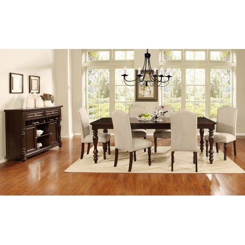 Darby Home Co Foster 7 Piece Dining Set