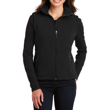 - Mafoose Women's Super Soft Value Fleece Vest Black X-Small