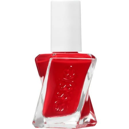 essie gel couture nail polish, rock the runway, red nail polish, 0.46 fl. -