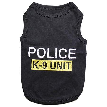 Parisian Pet Dog Clothes POLICE - Police Dog Outfit