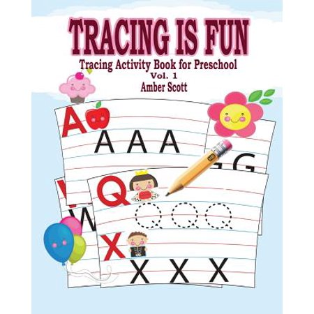 Tracing Is Fun (Tracing Activity Book for Preschool) Vol. 1 (Preschool Language Activities For Halloween)