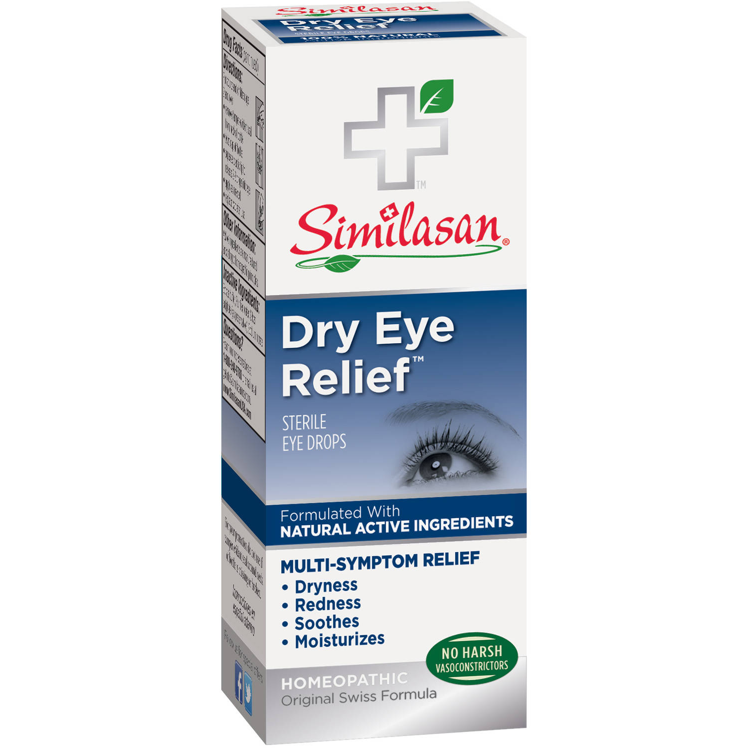 Similasan Healthy Relief Dry Eye Relief Eye Drops Eye Drops, 10 ml