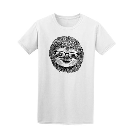 vintage sloth with sunglasses tee men s image by shutterstock