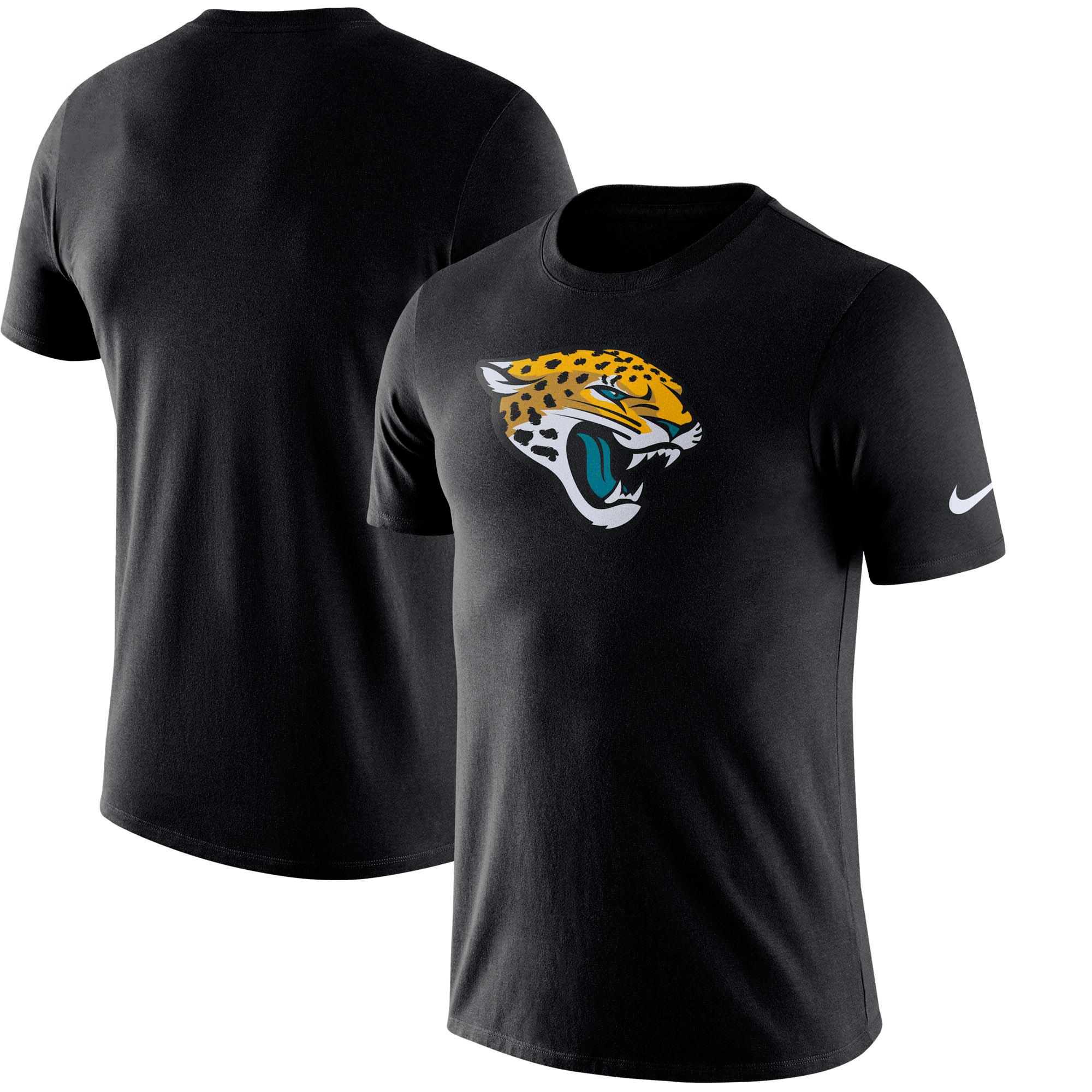 Jacksonville Jaguars Nike Essential Logo Performance T-Shirt - Black