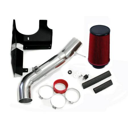2001 2002 2003 2004 Chevrolet Silverado / 2001-2004 GMC Sierra 2500HD 3500 6.6 6.6L Duramax Turbo Diesel Heatshield AIR Intake KIT Systems (RED) Turbo Kit System