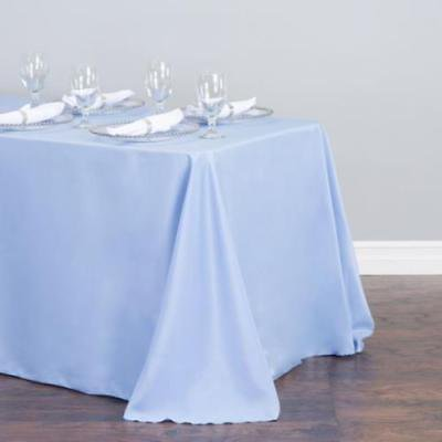 90 X 156 In Rectangular Polyester Tablecloth Serenity