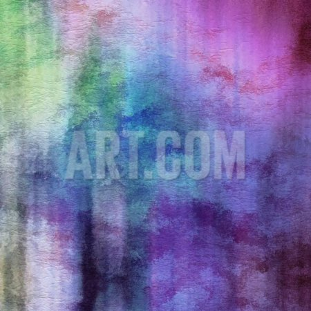 Art Abstract Watercolor Background On Paper Texture In Light Violet And Pink Colors Transitional Abstract Art Print Wall Art By Irina Qqq