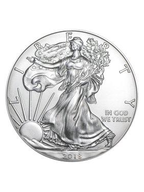 2018 American Silver Eagle 1 oz Silver Coin