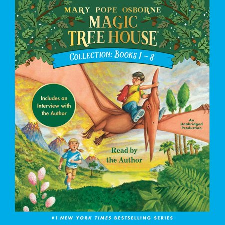 Magic Tree House Collection: Books 1-8 - 1-8 - Audiobook (Halloween 1-8 Collection)