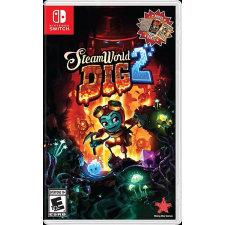 - Steamworld Dig 2 for Nintendo Switch
