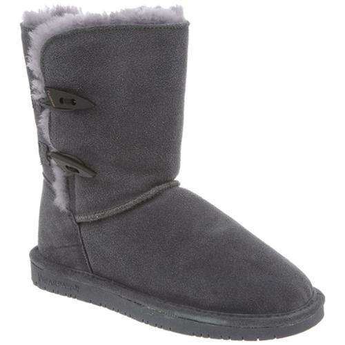 Bearpaw Abigail Women  Round Toe Suede Gray Winter Boot