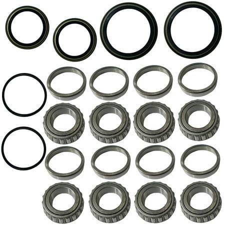 Top Notch Parts Front Wheel Bearings Seal Kit For Polaris