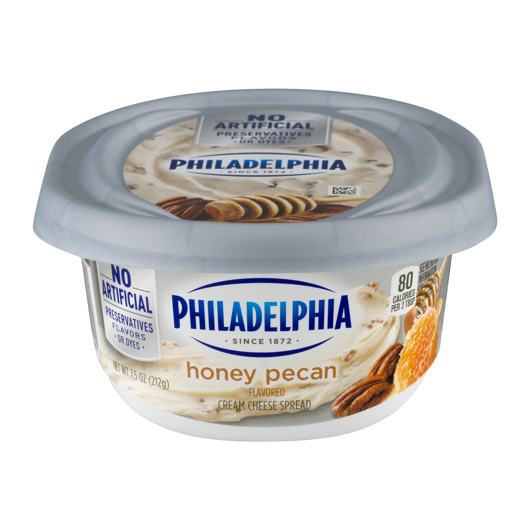 Philadelphia Cream Cheese Spread Honey Pecan, 7.5 OZ