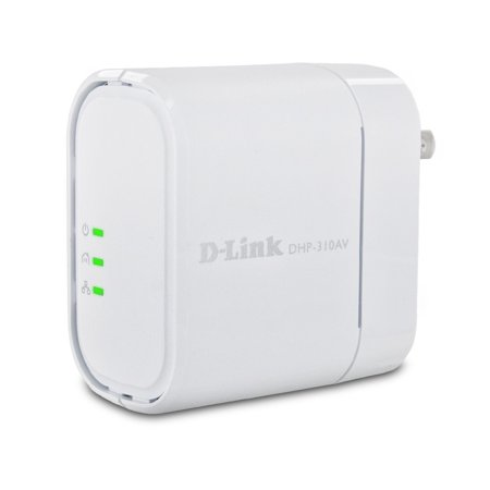 Cisco Powerline Network Adapters (D-Link DHP-310AV 200 Mbps PowerLine AV Mini Adapter )