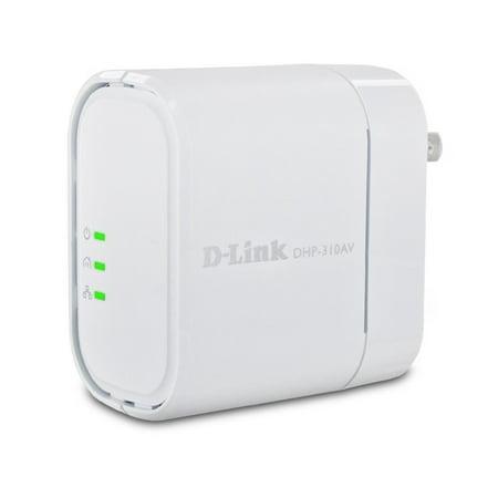D-Link DHP-310AV 200 Mbps PowerLine AV Mini Adapter- XSDP -DHP-310AV - Easily extend your home network so it can reach even the farthest corners with the D-Link DHP-310AV PowerLine AV (Mbp 10 Reach Tips)