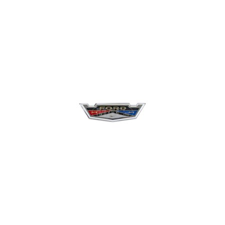 MACs Auto Parts Premier  Products 60-34341 Roof Side Emblem - Ford Galaxie 500 2 Door Hardtop, Ford Galaxie 2 Door Or Ford Galaxie 4 Door