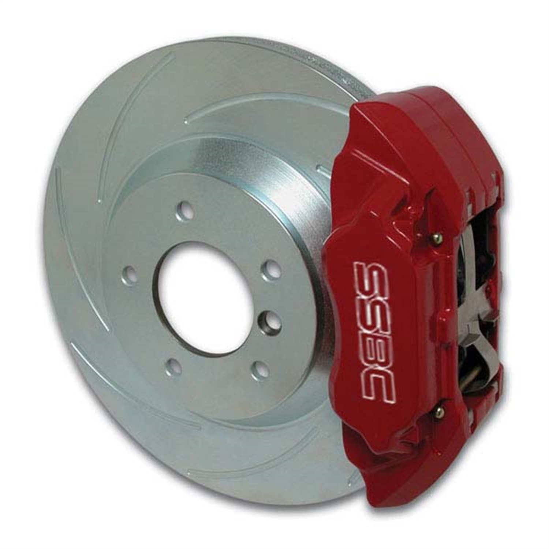 SSBC Performance Brakes A166-15R Extreme; 4-Piston Disc Brake Kit Fits Prelude