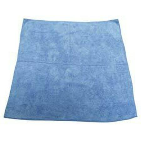 Pro-Source M915100B 16x16 inch Terry Blue Microfiber Cloth