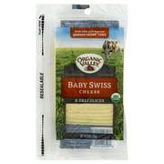Organic Valley Baby Swiss Cheese 6 oz. Pack