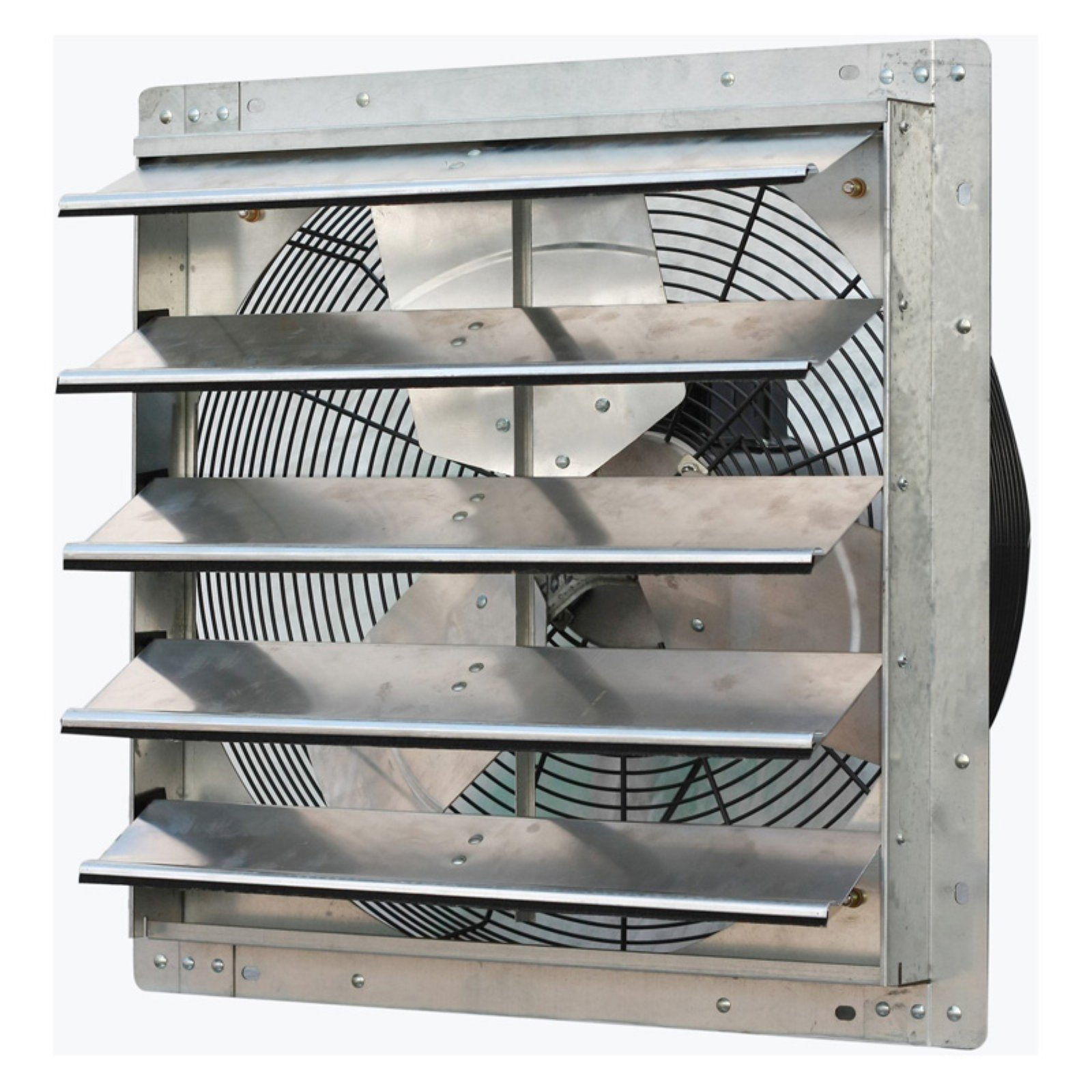 """iLIVING 20"""" Variable Speed Shutter Exhaust Fan, Wall-Mounted"""