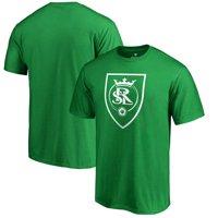 Real Salt Lake Fanatics Branded St. Patrick's Day White Logo T-Shirt - Kelly Green