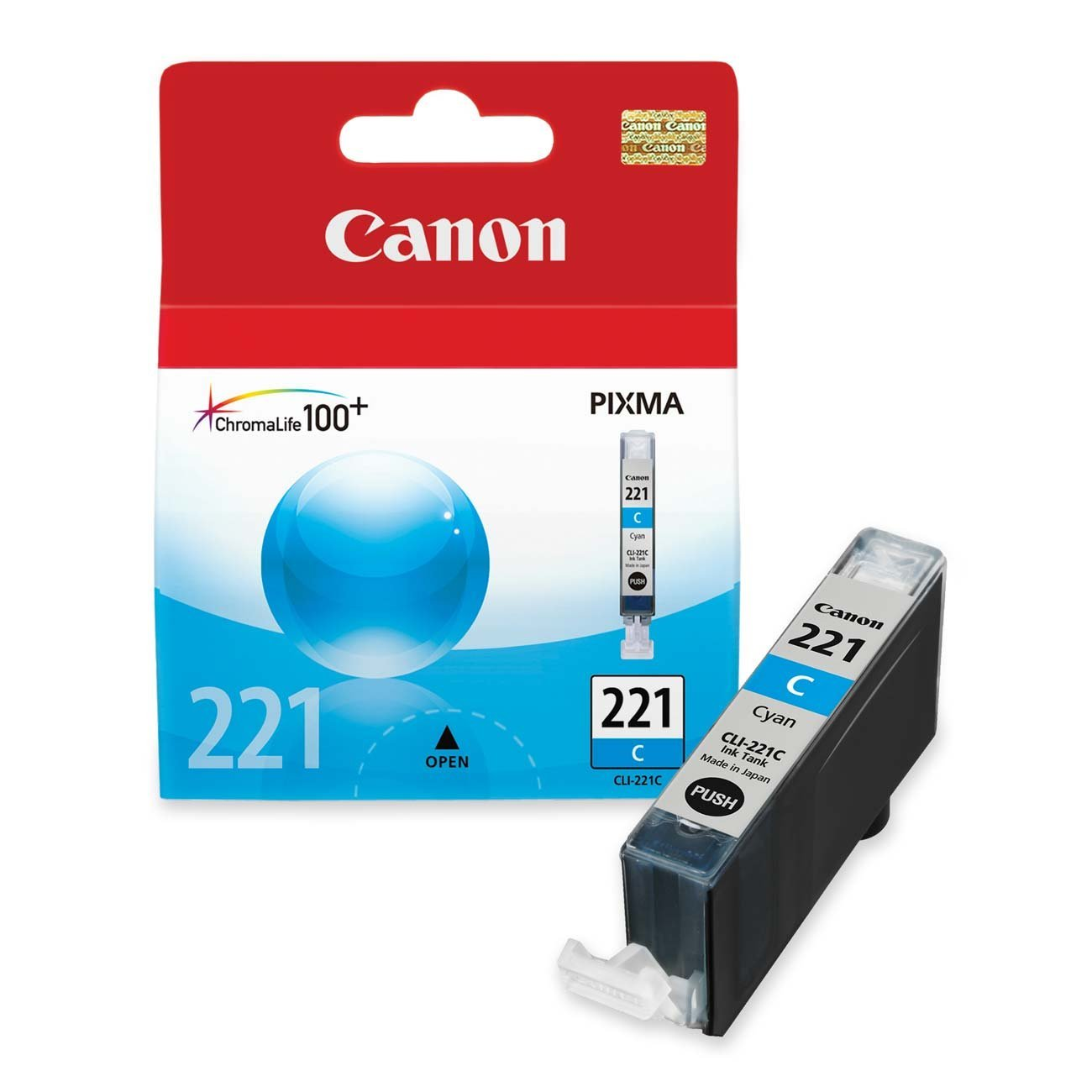 Canon CLI-221 Ink Tank -Yellow