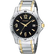 PXH615 Mens Black Dial Two-Tone Date Casual Watch