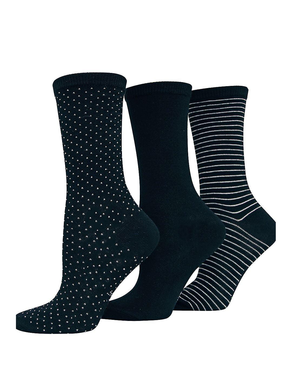 Printed Trouser Socks 3-Pack