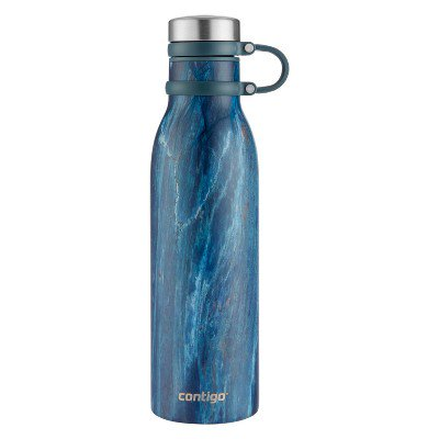 Contigo 20oz Matterhorn ThermaLock Hydration Bottle Blue Slate