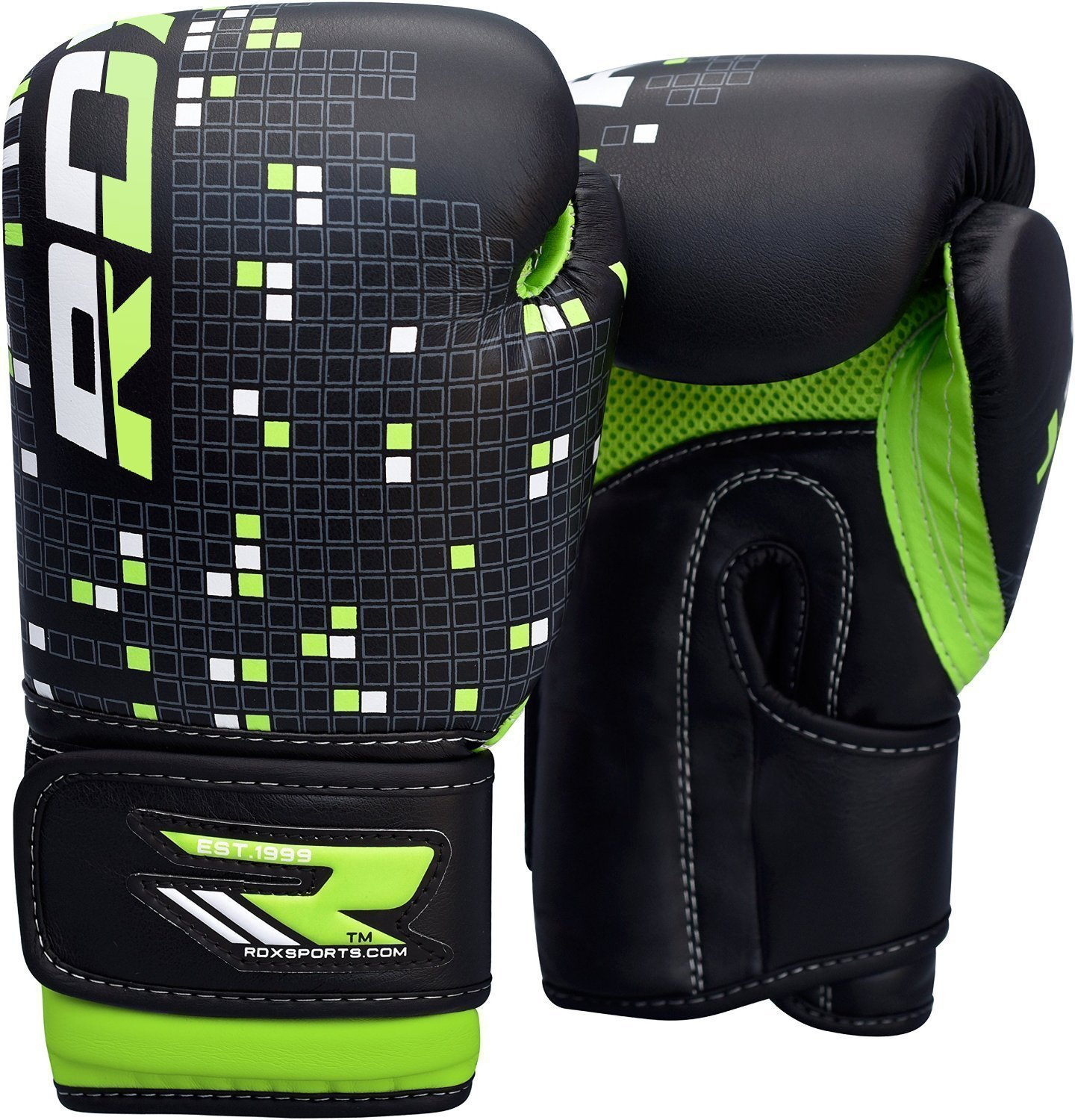 RDX Maya Hide Leather 6oz Kids Boxing Gloves Junior Punch Bag MMA Training Muay Thai Mitts