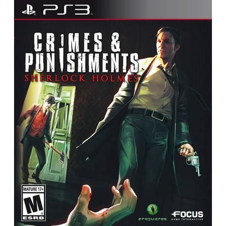 Crimes & Punishments: Sherlock Holmes PS3