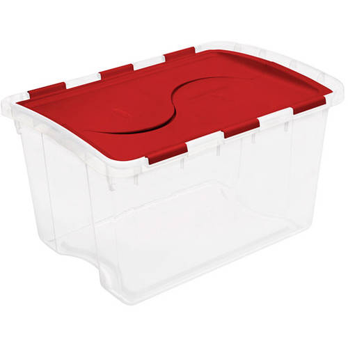 Sterilite 12-Gallon (48-Quart) Hinged Storage Box