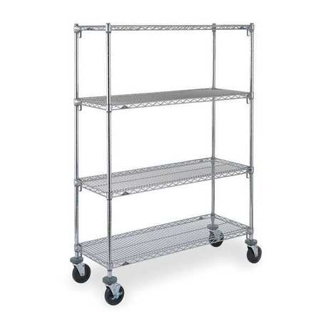 Metro CART 4B 24 In. W Adjustable Shelf Wire Cart