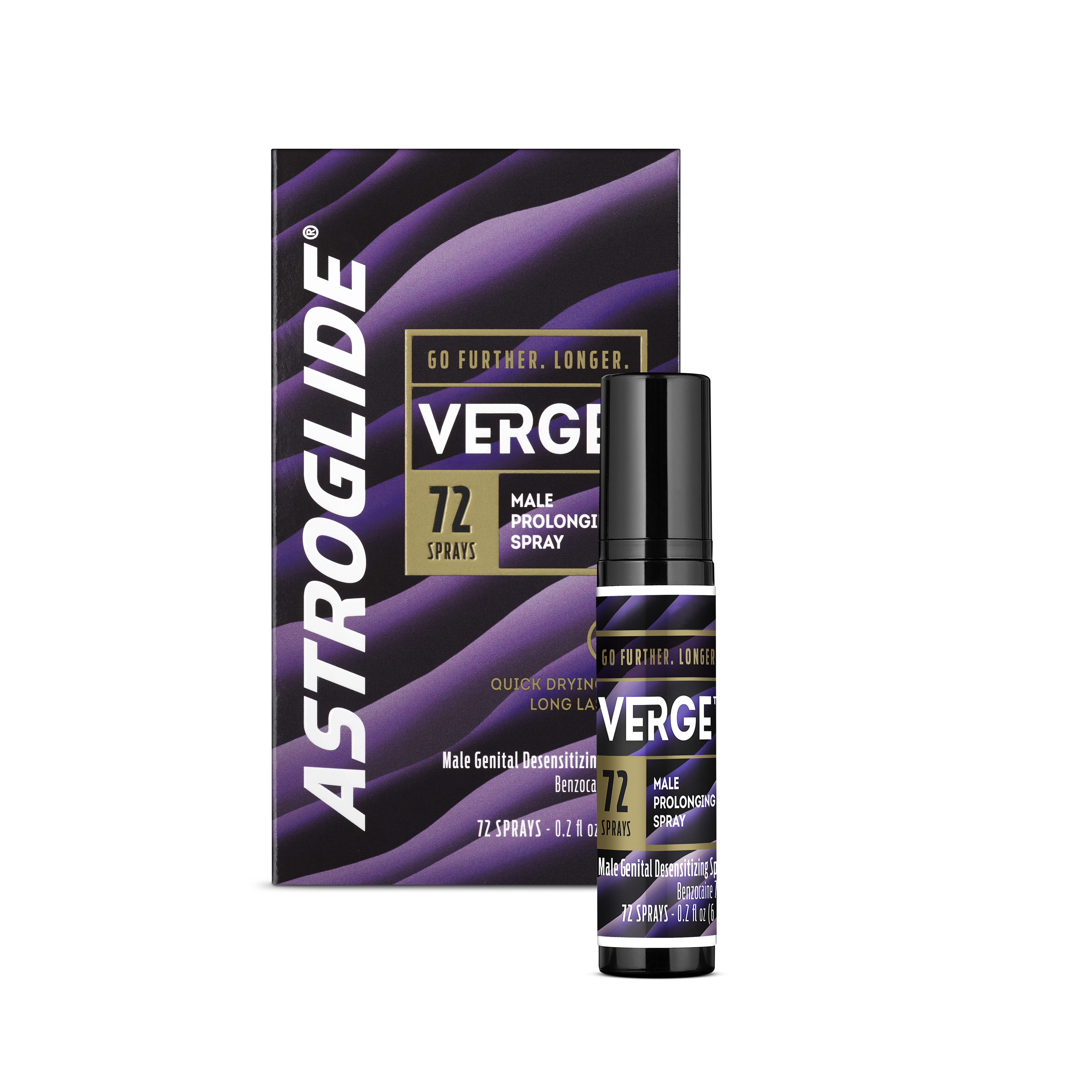 Astroglide Verge Male Prolonging Spray, 0.2oz