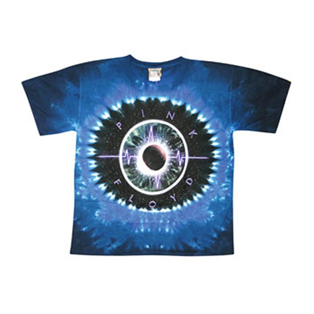 Pink Floyd Men's  Pulse Concentric Tie Dye T-shirt Multi