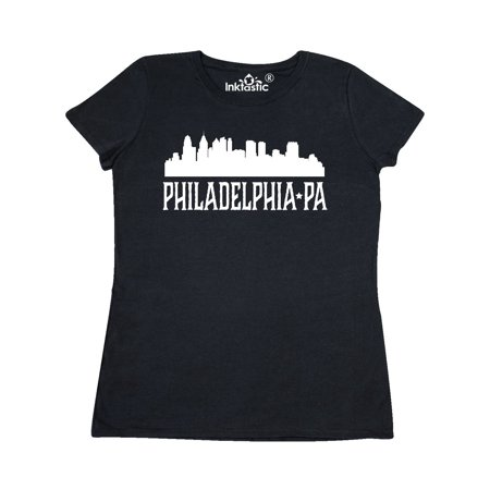 Philadelphia Pennsylvania Skyline PA Cities Women's T-Shirt