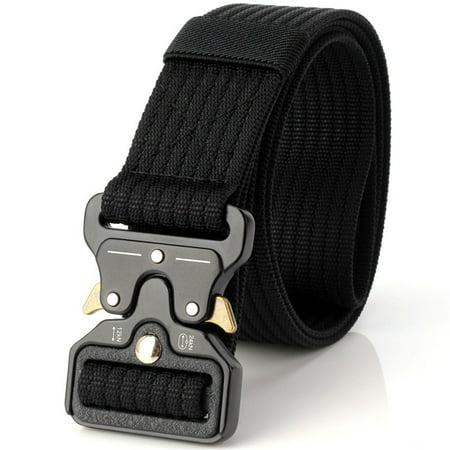 Multi-function Outdoor Gear Heavy Duty Belt Nylon Metal Buckle Swat Molle Padded Patrol Waist Belt (Padded Waist Belt)