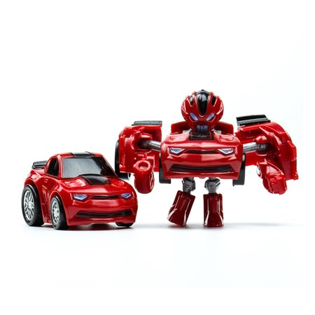 Pocket Transformation Robot Car Toy Cute Mini Deformation Car Model