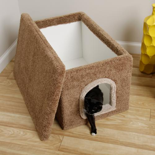 New Cat Condos  Hidden Litter Box Enclosure